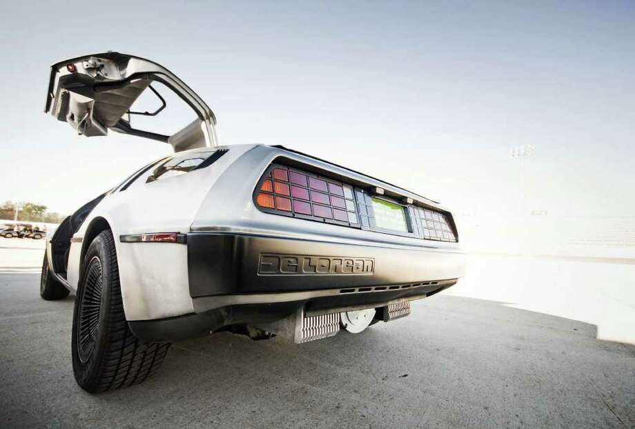 driving a delorean is a one man parade houston chronicle. Black Bedroom Furniture Sets. Home Design Ideas