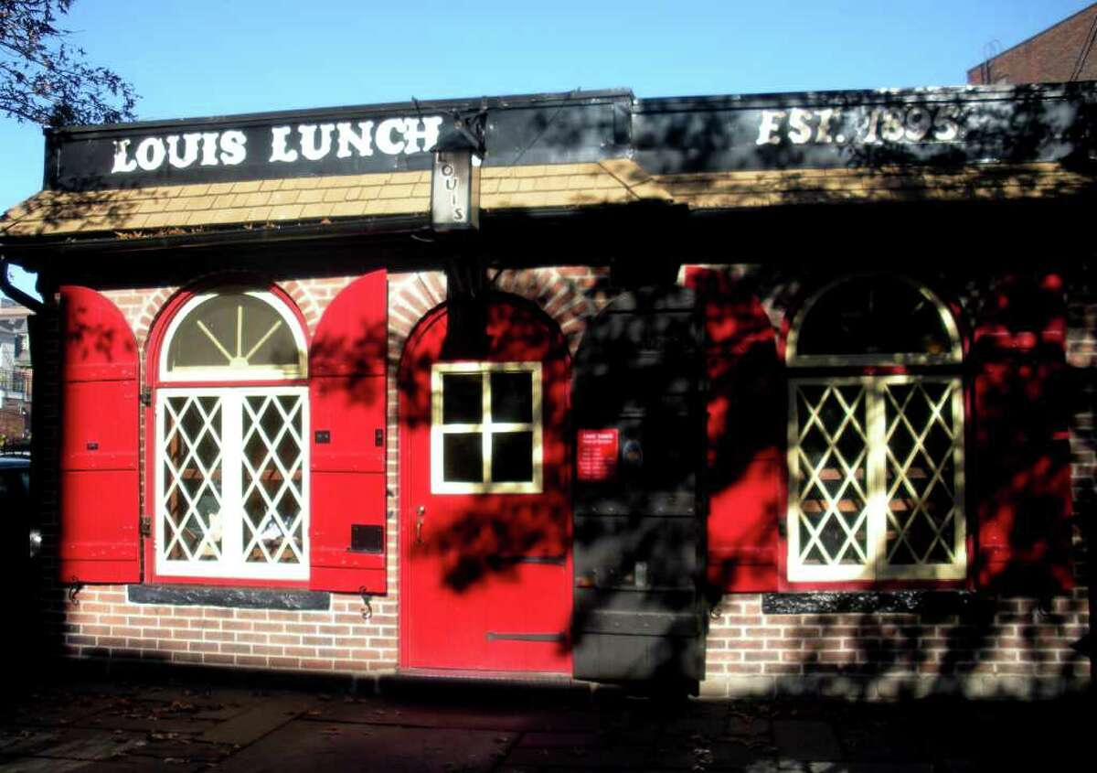 Louis' Lunch, in New Haven, Conn.