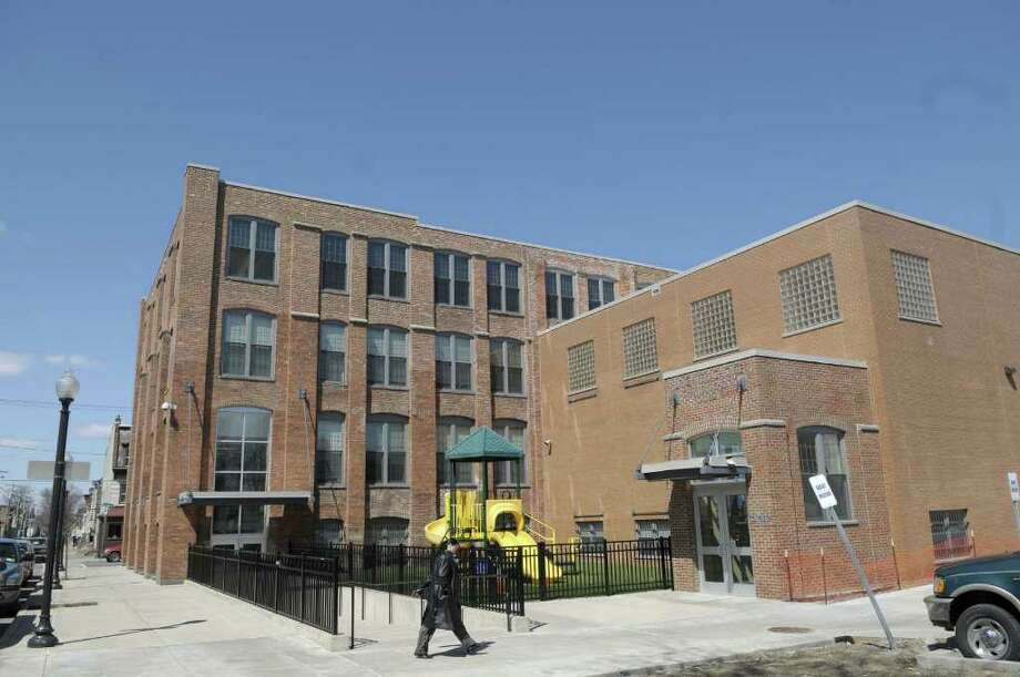 A view of the Brighter Choice School for Boys on North Lake Ave. on Thursday afternoon, April 7, 2011 in Albany, NY.  New York State comptroller Thomas DiNapoli has announced he will begin to audit charter schools, the first time his office has been allowed to do so since the publicly funded, privately run schools were created in the state more than a decade ago.    (Paul Buckowski / Times Union) Photo: Paul Buckowski / 00012691A