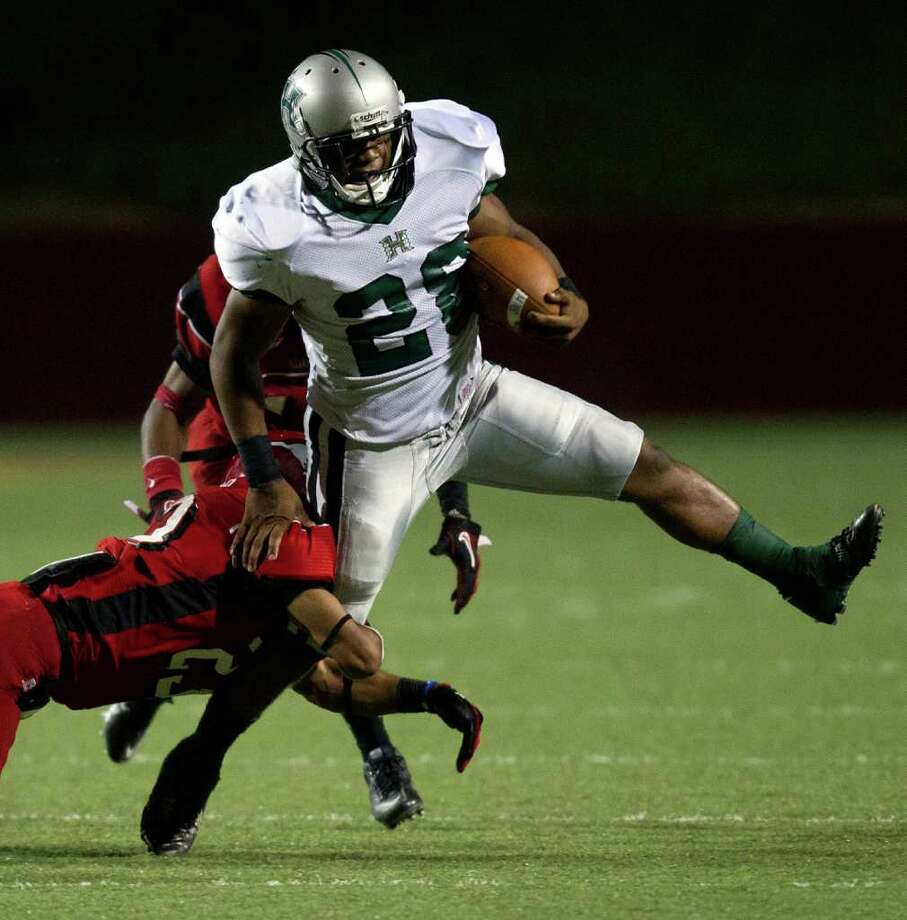 Hightower running back Jaquinn Henderson Photo: Smiley N. Pool, Houston Chronicle / © 2011  Houston Chronicle