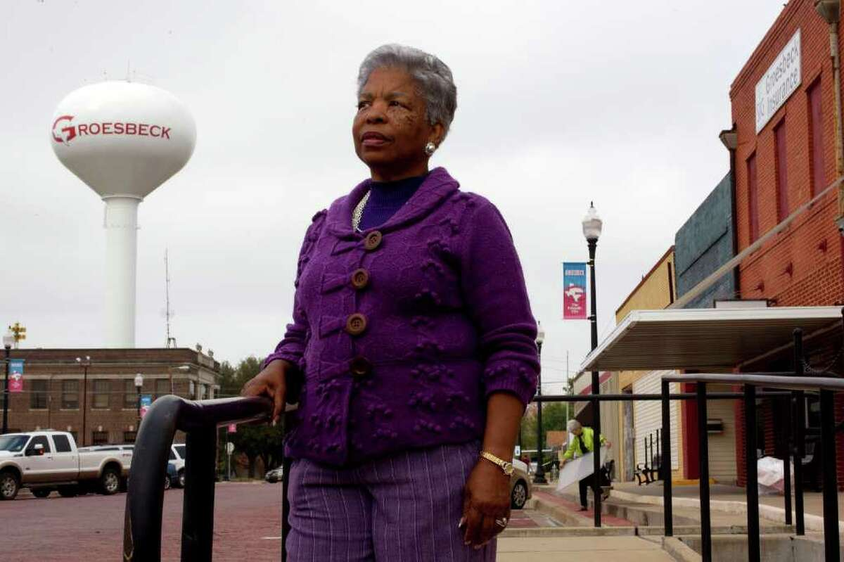 DECEMBER DEADLINE: Mayor Jackie Levingston knows her town's situation is dire.