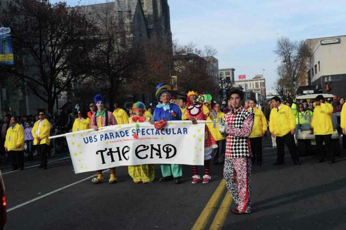 The UBS Parade Spectacular welcomed tens of thousands to downtown Stamford Sunday, November 20, 2011. The most welcome guest, though, was the clear skies and temperatures in the low 60s.