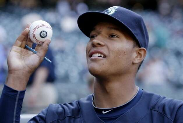 Or it could be Taijuan Walker, a hot pitching prospect in the Mariners' farm system. Photo: AP Photo