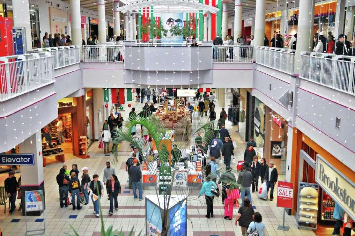 Black Friday shoppers inside Crossgates Mall late Friday morning November 26, 2010. (John Carl D'Annibale / Times Union)
