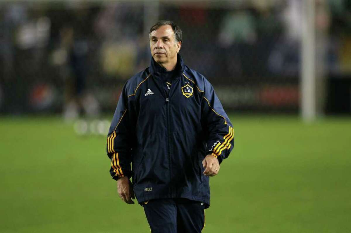 CARSON, CA - NOVEMBER 20: Head coach of the Los Angeles Galaxy Bruce Arena looks on prior to the 2011 MLS Cup at The Home Depot Center on November 20, 2011 in Carson, California.