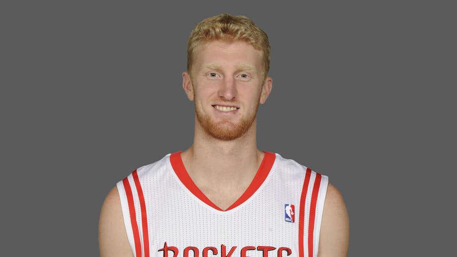Chase Budinger Houston Rockets  2010 NBA photo