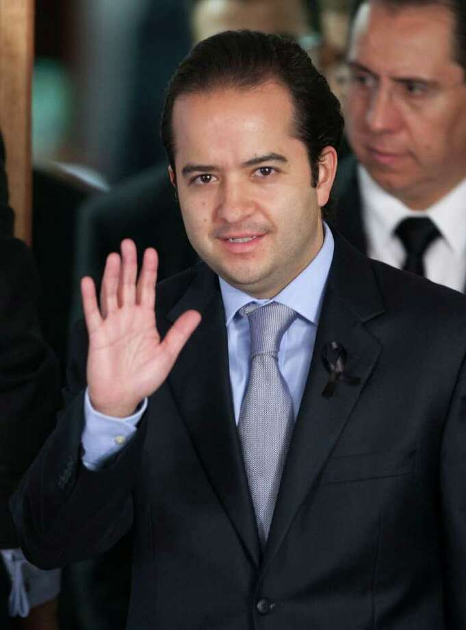 New interior minister Alejandro Poiré has job of securing elections. Photo: EDUARDO VERDUGO, ASSOCIATED PRESS