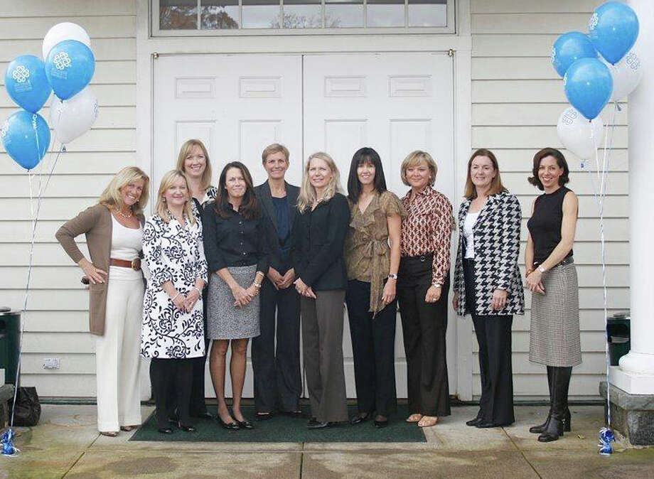The luncheon committee, from left, includes Christine Betack, Cindy Charas Cynthia Gorey, Meghan Allen, Lori Kelly, Lindsey Heron, Eileen Boyd, Margaret Riley, Sue Gummeson, Cindy Charas, Joellen Ford and Amy Sheffield. Not shown: Tori Bonebrake, Jennifer Bretl, Diana Ferguson, Polly Goodyear, Diane Hanauer and Lisa Wrenn. Photo: Contributed Photo