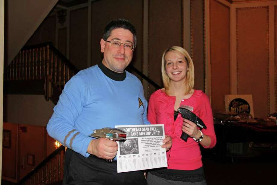 Were you Seen at the Star Trek Classic Movie Night on Monday, November 21, at the Palace Theatre in Albany? Photo: Brian Tromans