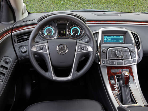 2012 Buick LaCrosse E-Assist (photo courtesy General Motors Corp.) Photo: Alan Vanderkaay / License Agreement - Please read the following important information pertaining to this image. This GM image is protected by copy