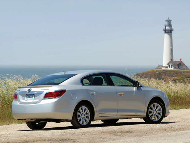 2012 Buick LaCrosse E-Assist (photo courtesy General Motors Corp.) Photo: GM / License Agreement - Please read the following important information pertaining to this image. This GM image is protected by copy