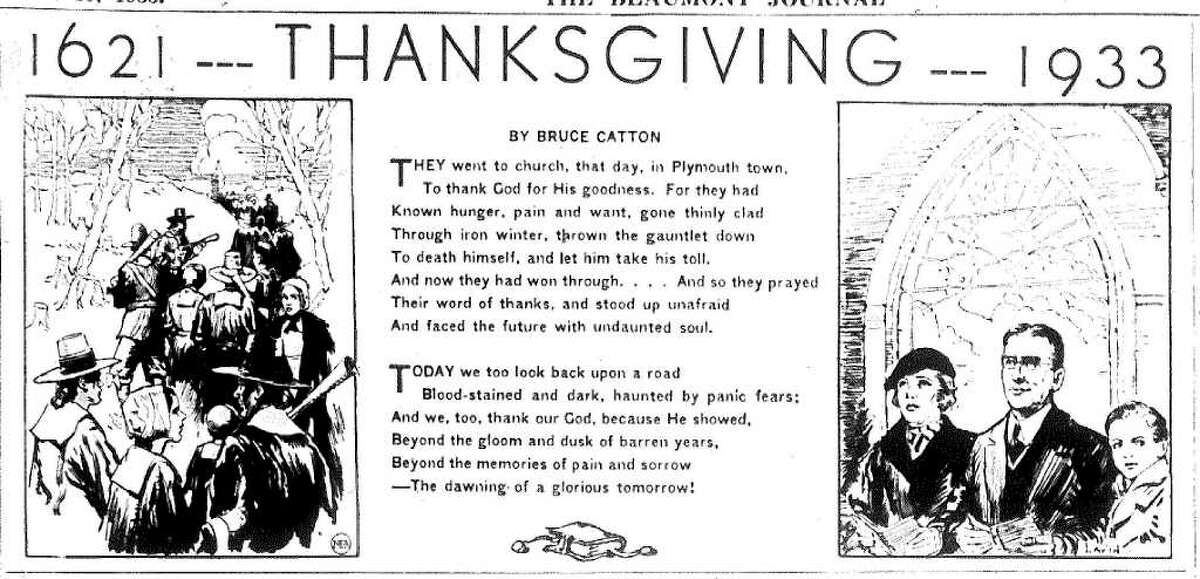 A sense of optimism prevailed over Thanksgiving Day during the Great Depression.