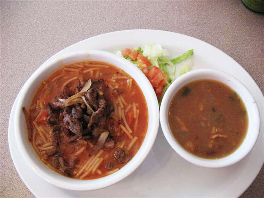 Fideo con asada from La Cabana de Jalisco.Now it's your turn: Tell us what comfort food warms you on a chilly San Antonio day.