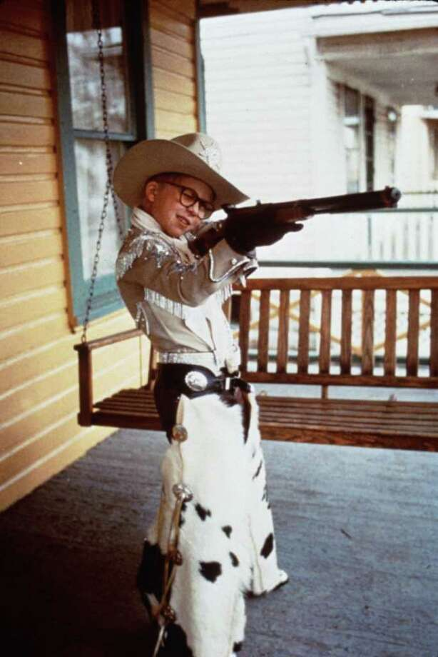 "In ""A Christmas Story,"" Ralphie (Peter Billingsley) imagines what life would be like with a new Red Ryder BB Gun. TBS will air the movie for 24 hours, starting at 7 p.m. Dec. 24. / handout slide"