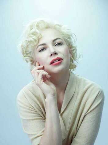Photo Caption: Michelle Williams as Marilyn Monroe in Simon Curtis's film MY WEEK WITH MARILYN. Photo: Laurence Cendrowicz/ The Weinste