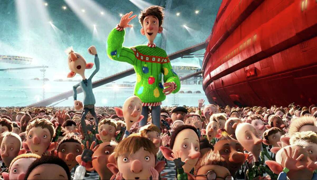 """""""Arthur Christmas"""" comes from the makers of clay-animated Wallace and Gromit."""