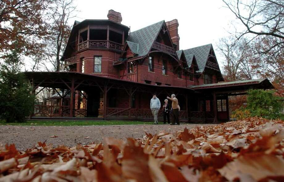 A view of the Mark Twain house in Hartford, Conn. in 2008. Photo: Christian Abraham, ST / Connecticut Post