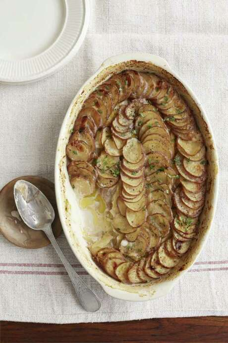 Country Living recipe for Leek and Potato Gratin Photo: Marcus Nilsson