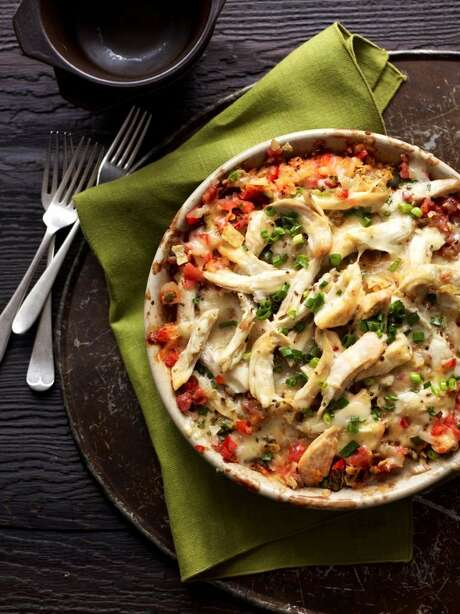 Good Housekeeping recipe for King Ranch Chicken. Photo: Con Poulos