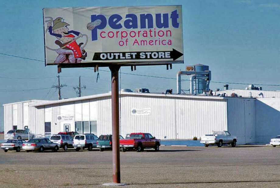 RICHARD PORTER : PLAINVIEW DAILY HERALD FILE PHOTO OUT OF BUSINESS: The Peanut Corporation of America, with processing plants in Plainview, above, and in Blakely, Ga., filed for bankruptcy in 2009 after hundreds of people were sickened in a salmonella outbreak. Photo: Richard Porter / Plainview Daily Herald