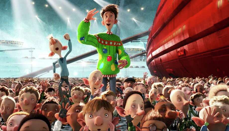 Arthur (voiced by James McAvoy) in ARTHUR CHRISTMAS, an animated film produced by Aardman Animations for Sony Pictures Animation. Photo: Aardman Animations For Sony Pict / © 2011 Sony Pictures Animation Inc.  All Rights Reserved. **ALL IMAGES ARE PROPERTY OF SONY PICTURES ENTERTAINMENT INC. FOR PROM