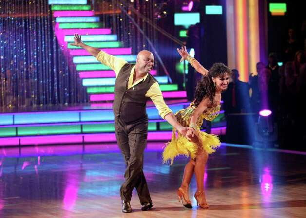 "DANCING WITH THE STARS - ""Episode 1310"" - All three couples competed against one another with two dances. The first number was a style the couples had not yet done. Then, all three contenders performed the always popular and fan favorite Freestyle dances, in the final one-hour performance show on ""Dancing with the Stars,"" on MONDAY, NOVEMBER 21 (8:00-9:00 p.m., ET), on ABC. (ABC/ADAM TAYLOR) J.R. MARTINEZ, KARINA SMIRNOFF Photo: Adam Taylor, ABC / © 2011 American Broadcasting Companies, Inc. All rights reserved."