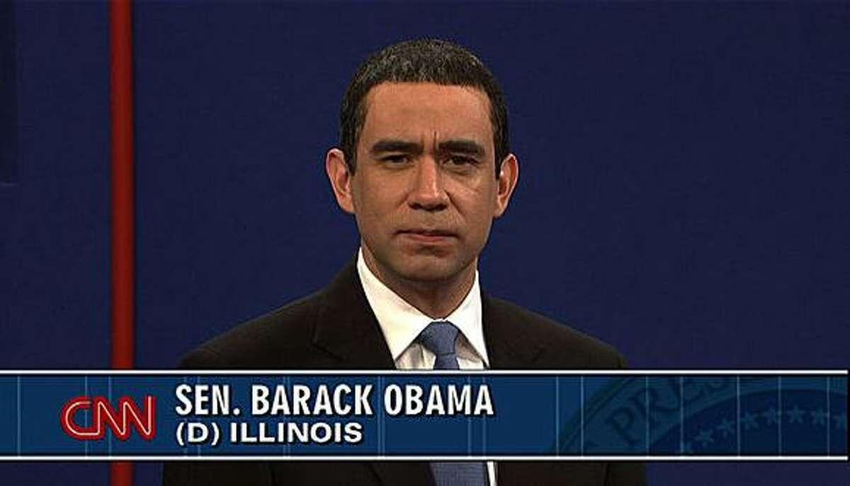 Fred Armisen plays President Obama on Saturday Night Live.