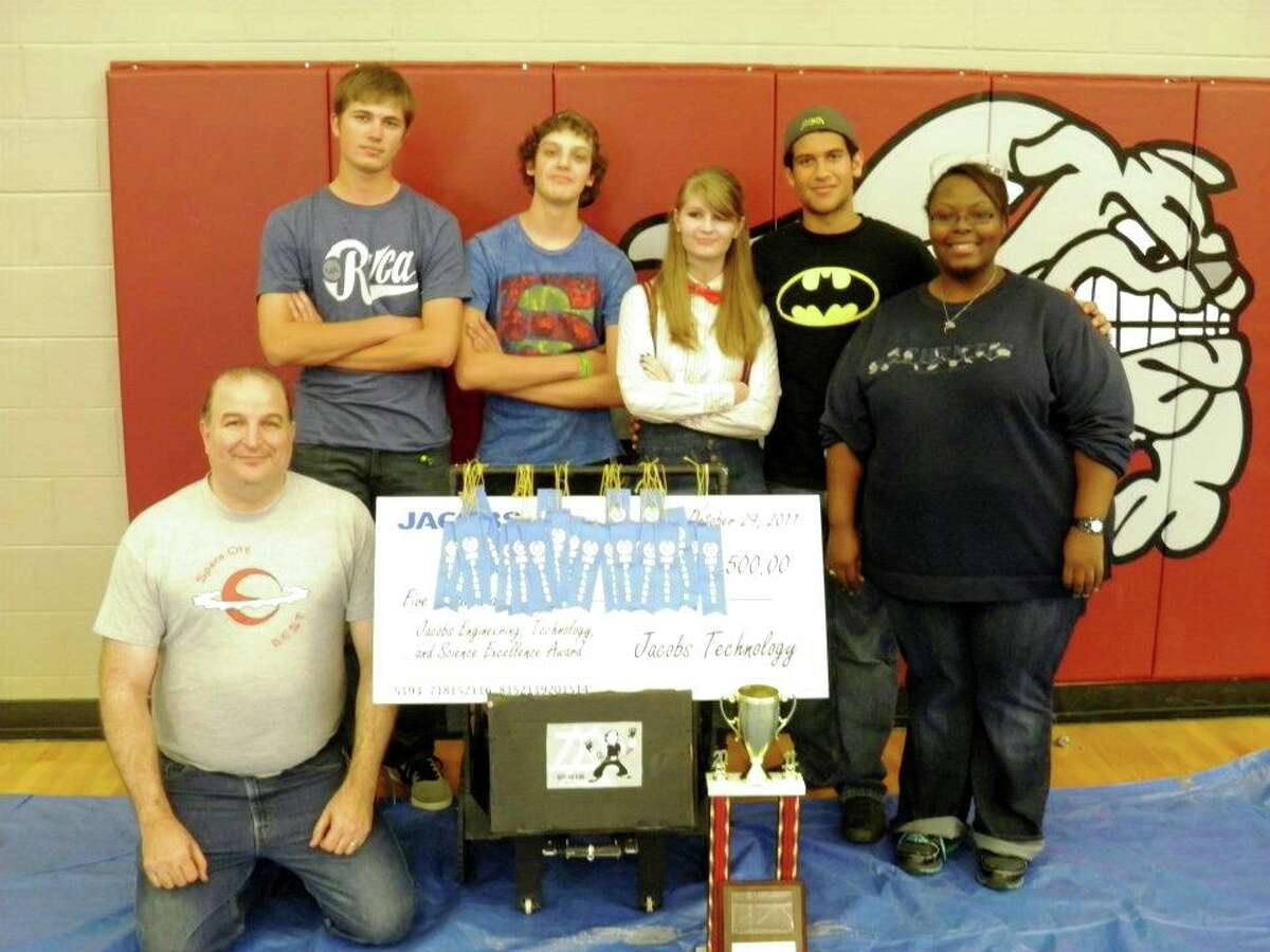 The Kountze High School Robotics Team participates in State competition for the BEST Robotics. The team has already won the Regional competition with their