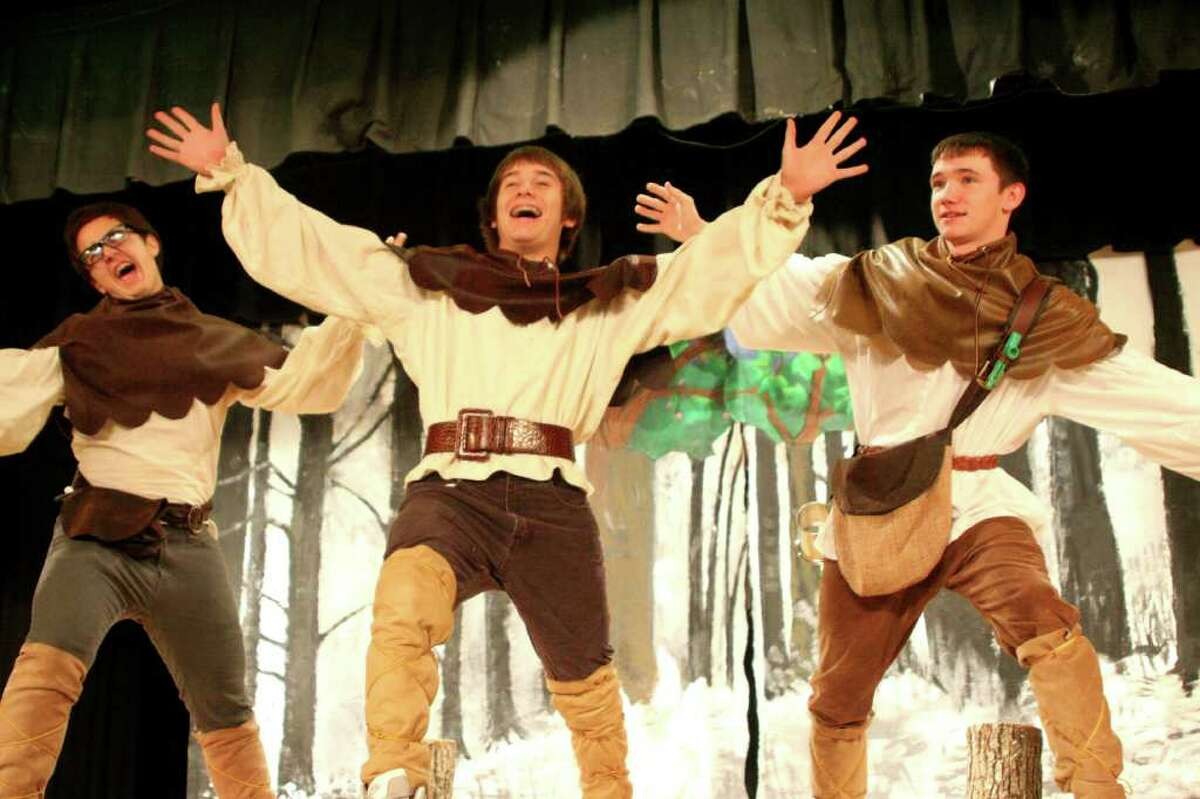 Students from Lumberton High School Advanced Theatre Class performed
