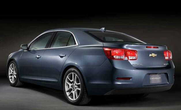 The 2013 Chevrolet Malibu Eco model has EPA fuel-economy ratings of 26 mpg city/38 highway. COURTESY OF GENERAL MOTORS CO. Photo: General Motors Co., COURTESY OF GENERAL MOTORS CO. / Chevrolet