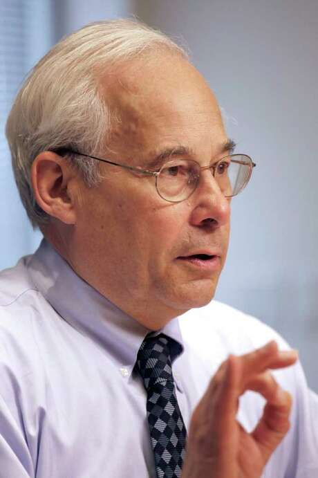 "ASSOCIATED PRESS FILES GOING: Dr. Don Berwick said he is leaving his post with ""bittersweet emotions."" Photo: J. David Ake / AP"