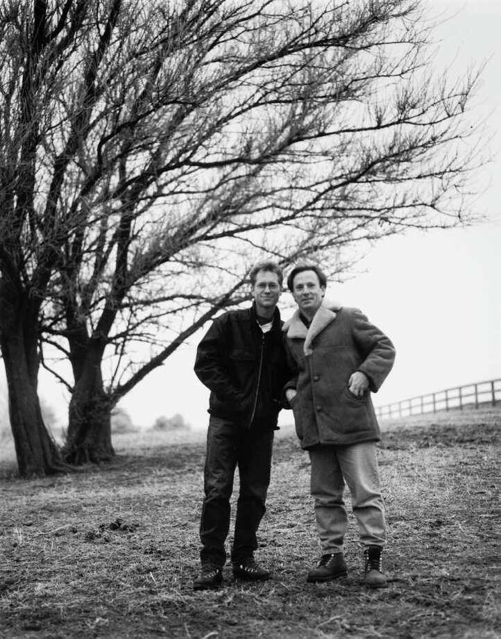 folk pop duo America  -- L-R: Gerry Beckley, Dewey Bunnell 2002 Photo Credit: Ann Cutting Photo: Ann Cutting / handout email / Andrew Dansby