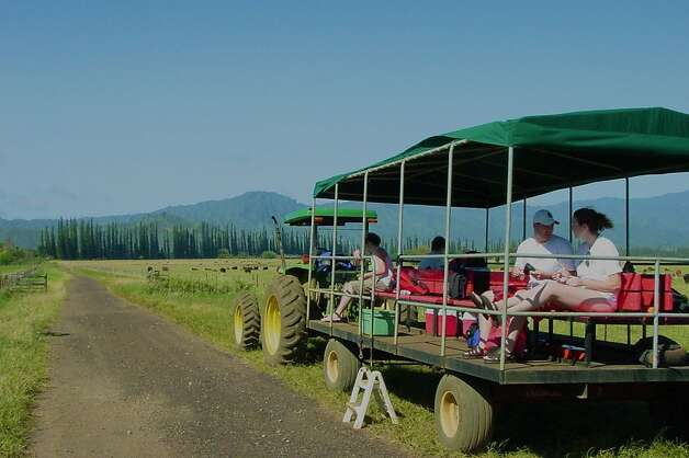 Visitors can tour the vast Kipu Ranch on Kauai, purchased from Hawaiian royalty by the son of missionaries and still owned by his descendants. Photo: Jeanne Cooper, Special To SFGate