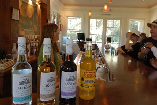 "The Koloa Rum Company's tasting room is part of the Kilohana complex, a former estate of the Wilcox family, to which ""The Descendants"" author Kaui Hart Hemmings belongs. Photo: Jeanne Cooper, Special To SFGate"