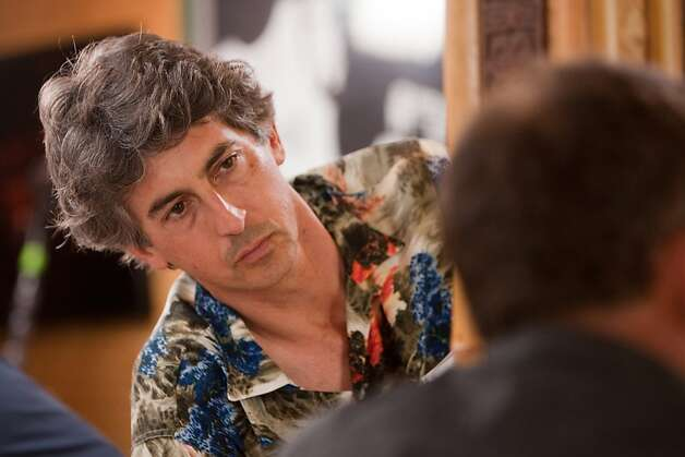 "Director Alexander Payne is shown on the set of ""The Descendants."" (Merie Wallace/Fox Searchlight/MCT) Photo: Merie Wallace, MCT"