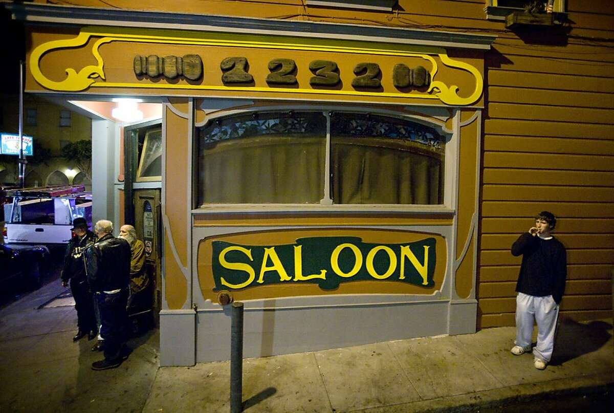 The Saloon, at 1232 Grant Ave. and Fresno Alley, was established in 1861 and is one of the oldest bars in San Francisco, Calif.