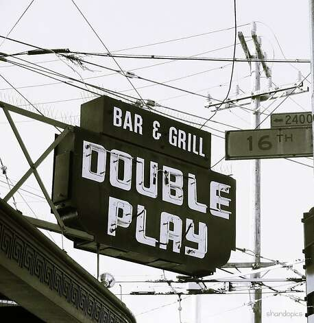 The Double Play-This bar is across the street from the site of old Seal's Stadium, between Potrero Hill and the Mission. Great baseball memorabilia and good food makes for a tasty dive. Photo: Flickr, Shando Darby