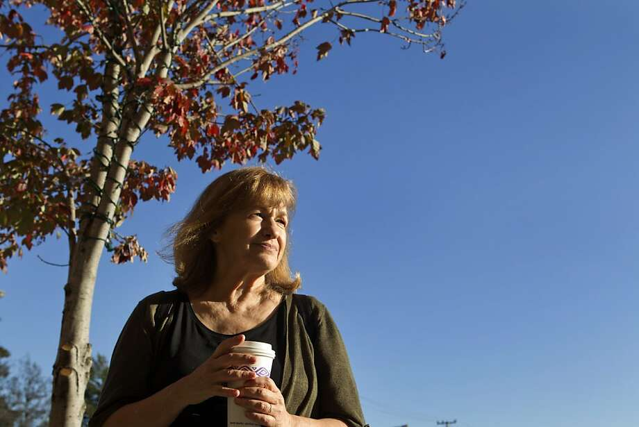 Jenny Bowen, Founder and CEO of Half the Sky, an NGO dedicated to improving the lives of orphans in China, and recent winner of a Purpose Prize, stands outside her Berkeley office Wednesday, November 16, 2011. Photo: Erin Lubin, Special To The Chronicle