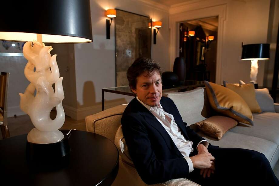 Nicolas Berggruen in his room at the Carlyle Hotel in Manhattan, NY on September 21, 2011. Nicolas Berggruen is the Chairman of Berggruen Holdings, a private company, which is the direct investment vehicle of The Nicolas Berggruen Charitable Trust. Through the Nicolas Berggruen Institute, an independent, non-partisan think tank, he encourages the study and design of systems of good governance suited for the 21st century. Mr. Berggruen is a board director of Zewail City of Science and Technology, Egypt; a member of the Council on Foreign Relations and the Pacific Council on International Policy. Photo: Melanie Burford, Special To The Chronicle