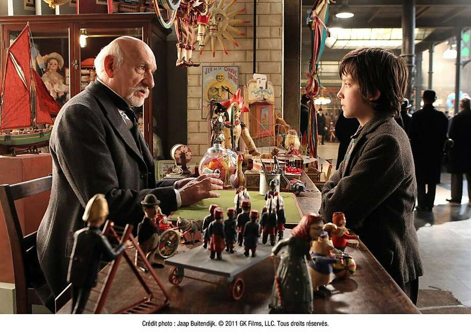 "Asa Butterfield and Ben Kingsley in ""Hugo,"" directed by Martin Scorsese. Photo: Jaap Buitendiyk, Paramount Pictures"