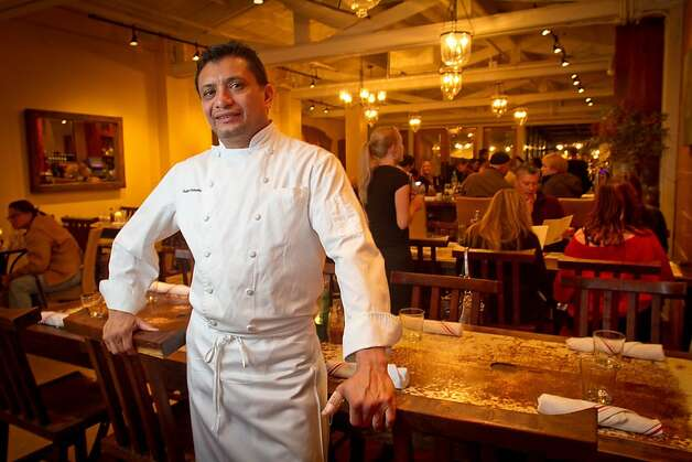 Chef Mateo Granados in his restaurant, Mateo's Cocina Latina,  in Healdsburg, Calif.,  is seen on Friday, November 11,  2011. Photo: John Storey, Special To The Chronicle