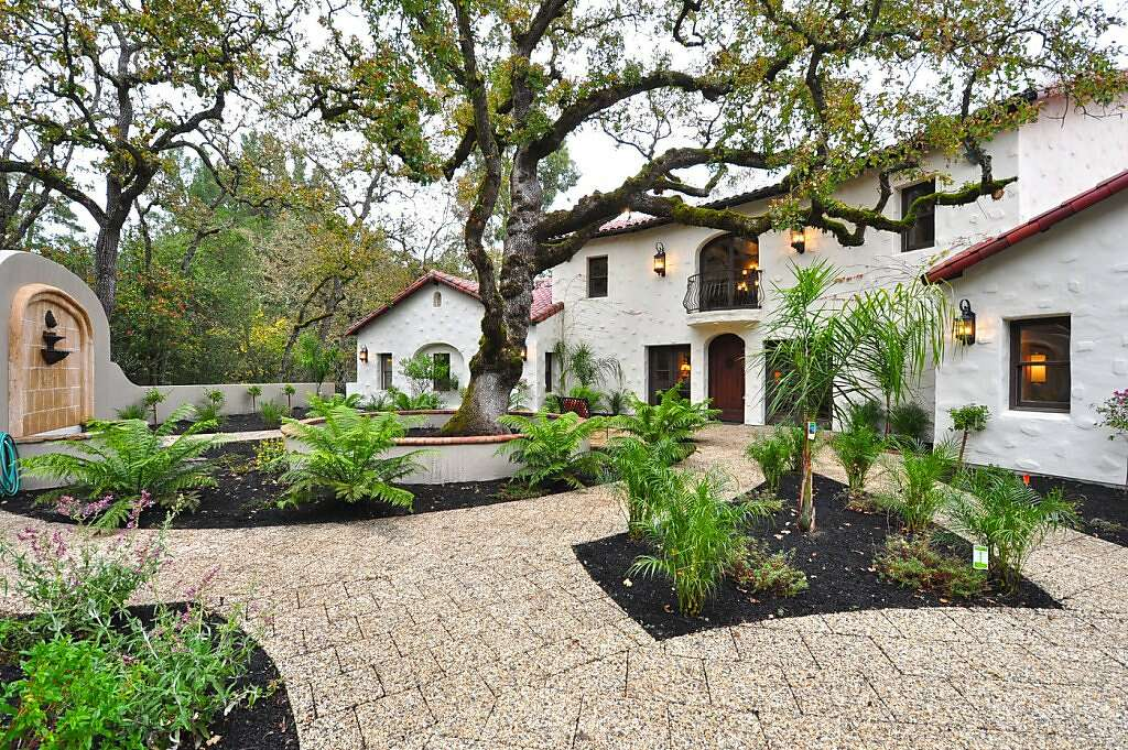 Spanish Style Home spanish-style home in lafayette delivers high style - sfgate
