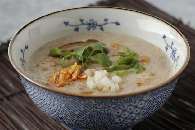 Turkey Jook as seen in San Francisco, California, on November 9, 2011. Food styled Sunny Liu. Photo: Craig Lee, Special To The Chronicle