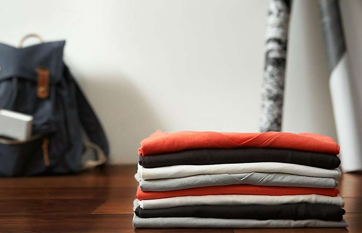 Everlane has a new men's T-shirt and accessories line that is sold online only via membership at www.everlane.com