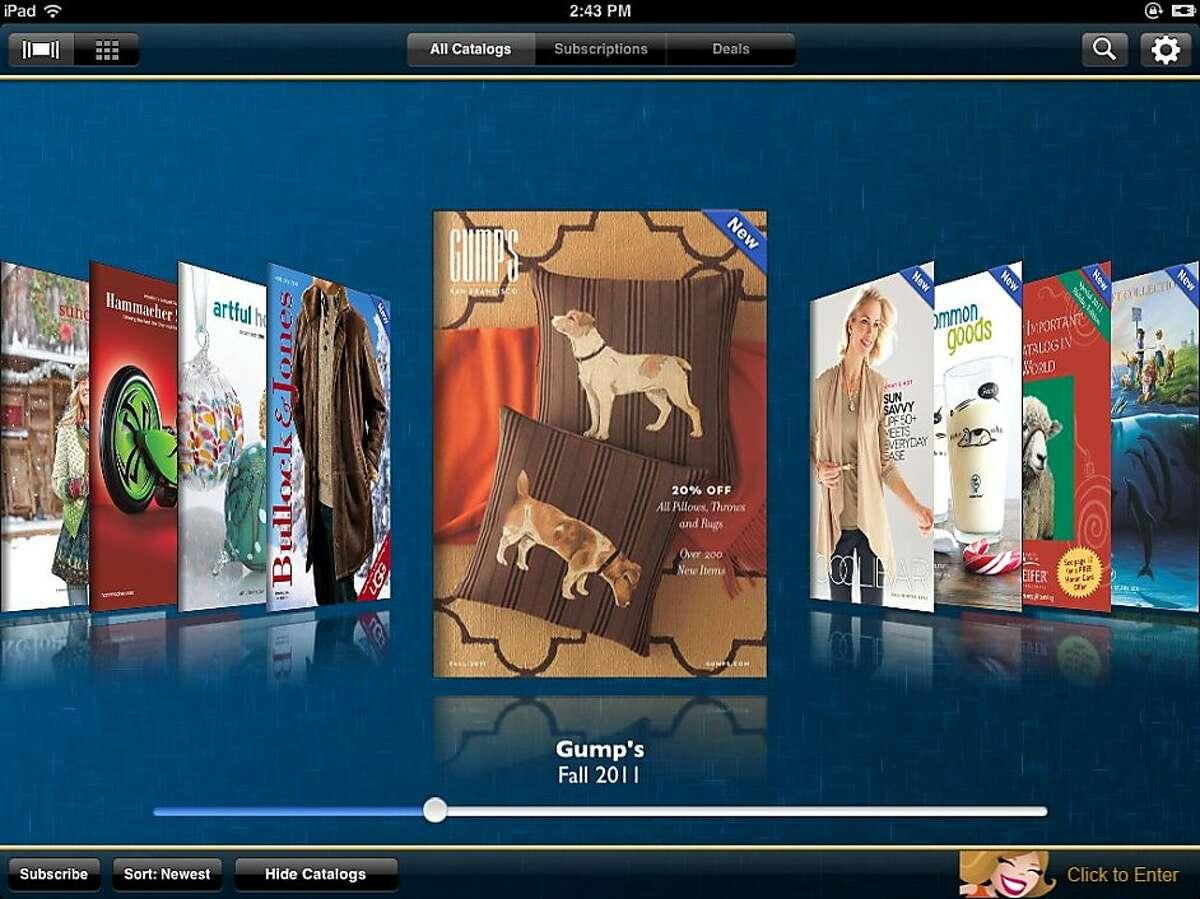 Catalog Spree, an iPad app for the catalog shopper.