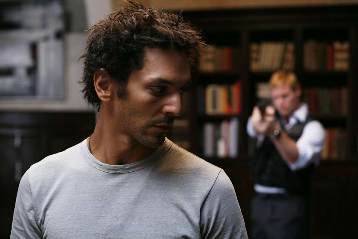"""Largo (Tomer Sisley) and Marcus (Stephen Waddington) appear in, """"The Heir Apparent: Largo Winch."""""""