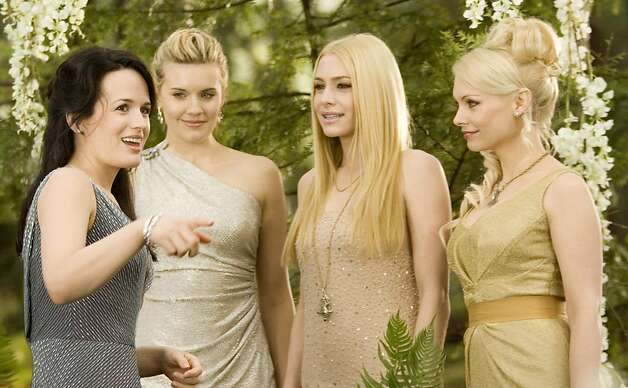 (L-R) Elizabeth Reaser, Maggie Grace, Casey LaBow and MyAnna Buring star in THE TWILIGHT SAGA: BREAKING DAWN - PART 1 Photo: Andrew Cooper