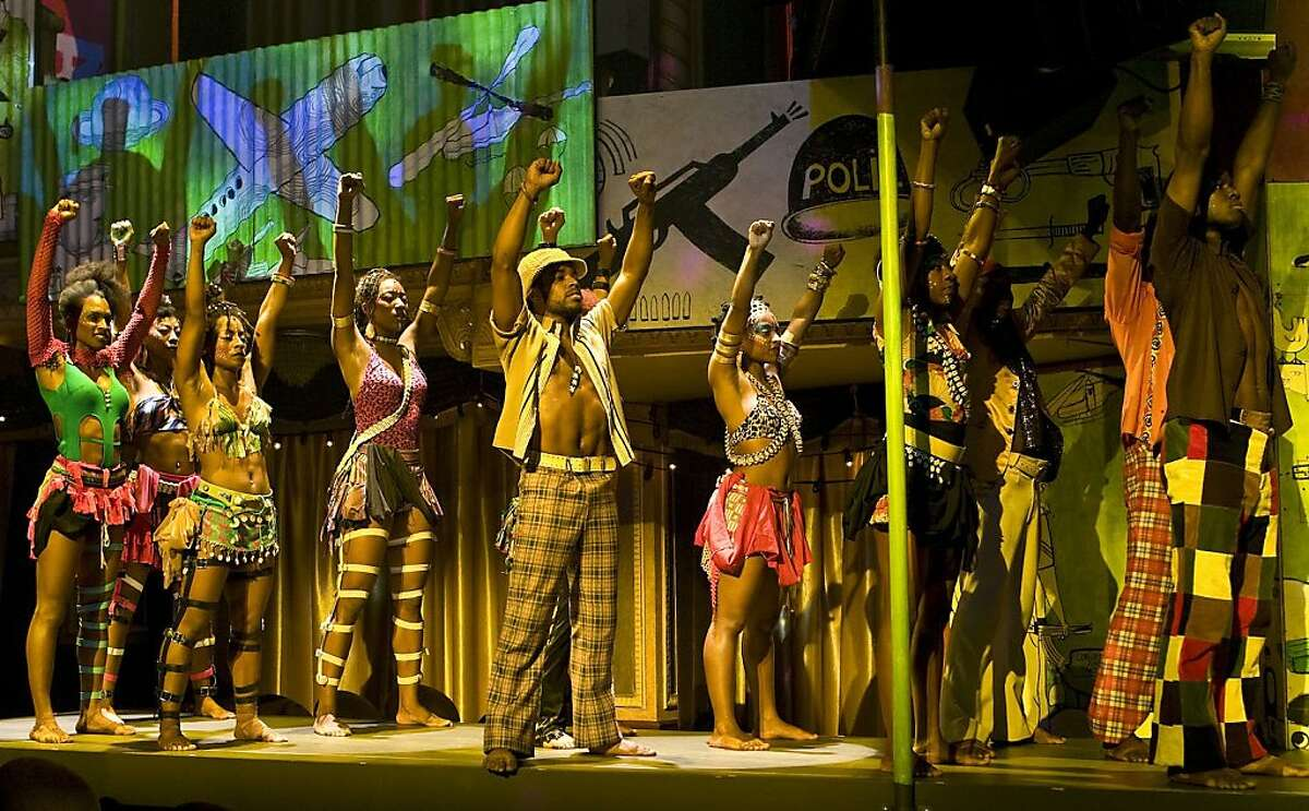 The cast of Fela which comes to SHN's Curran Theatre in November 2011 Ran on: 08-03-2011 Fela! won three Tony Awards, including best choreography for Bill T. Jones, who also directed and conceived the show about Nigerian musician and activist Fela Anikulapo-Kuti.