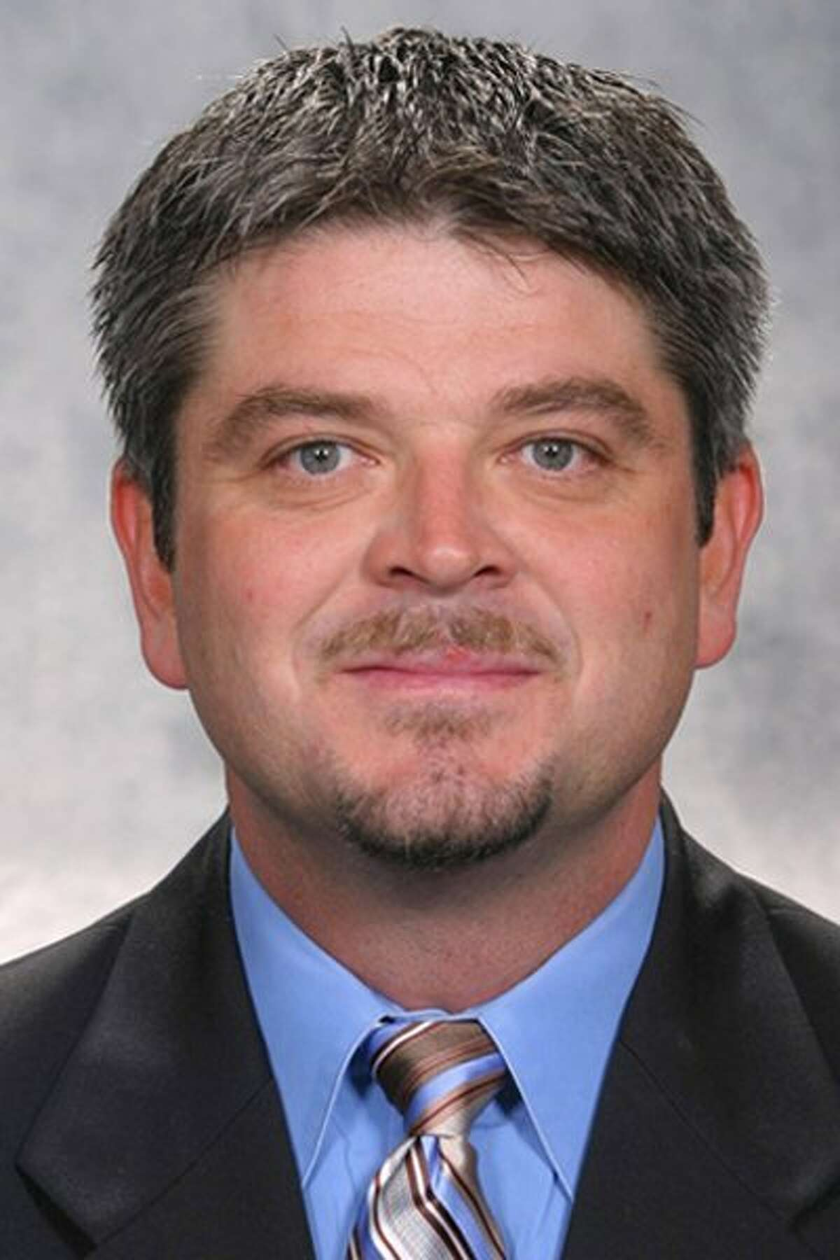 In this 2006 handout photo released by the Detroit Red Wings hockey club, assistant coach Todd McLellan is shown The San Jose Sharks have hired former Detroit Red Wings assistant Todd McLellan as their new head coach. A person familiar with the decision, speaking on condition of anonymity because an announcement has not been made, says that McLellan will be introduced as Ron Wilson's successor at a news conference Thursday, June 12, 2008. (AP Photo/Detroit Red Wings) ** NO SALES ** Ran on: 06-12-2008 McLellan Ran on: 10-08-2008 Barry Bonds Ran on: 10-08-2008 Ran on: 04-09-2009 Photo caption Dummy text goes here. Dummy text goes here. Dummy text goes here. Dummy text goes here. Dummy text goes here. Dummy text goes here. Dummy text goes here. Dummy text goes here.###Photo: names09_mclellanPH1162771200Detrot Red Wings###Live Caption:In this 2006 handout photo released by the Detroit Red Wings hockey club, assistant coach Todd McLellan is shown The San Jose Sharks have hired former Detroit Red Wings assistant Todd McLellan as their new head coach. A person familiar with the decision, speaking on condition of anonymity because an announcement has not been made, says that McLellan will be introduced as Ron Wilson's successor at a news conference Thursday, June 12, 2008. (AP Photo-Detroit Red Wings) ** NO SALES **###Caption History:In this 2006 handout photo released by the Detroit Red Wings hockey club, assistant coach Todd McLellan is shown The San Jose Sharks have hired former Detroit Red Wings assistant Todd McLellan as their new head coach. A person familiar with the decision, speaking on condition of anonymity because an announcement has not been made, says that McLellan will be introduced as...