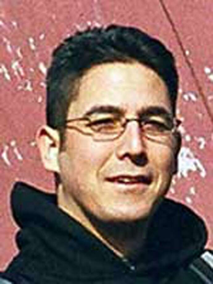"FILE  --This is an undated file photo provided by the Federal Bureau of Investigation of Daniel Andreas San Diego, an animal rights activist.   San Diego,30, of Berkeley, California, is sought in the bombings of two California drug and cosmetic companies in 2003. The FBIis exkpected to announce Tuesday, April 21, 2009 that San Diego was being added to the ""Most Wanted"" terrorist list.  (AP Photo/FBI/FILE) Ran on: 04-22-2009 Daniel Andreas San Diego, 31, an animal rights activist and fugitive since 2003, is now on the &quo;Most Wanted Terrorists&quo; list. Ran on: 04-22-2009 Daniel Andreas San Diego, 31, is accused of detonating pipe bombs at two Bay Area firms  in 2003. Ran on: 04-22-2009 Daniel Andreas San Diego, 31, is accused of detonating pipe bombs at two Bay Area firms  in 2003. Ran on: 04-22-2009 Daniel Andreas San Diego, 31, is accused of detonating pipe bombs at two Bay Area firms  in 2003. Ran on: 04-22-2009 Daniel Andreas San Diego, 31, is accused of detonating pipe bombs at two Bay Area firms  in 2003. Photo: AP"